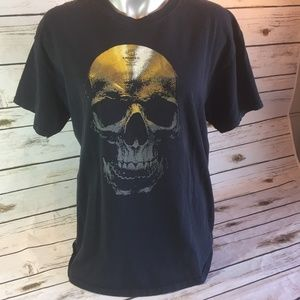 Halloween Zildjian Cymbal Skull Drummer Band Shirt